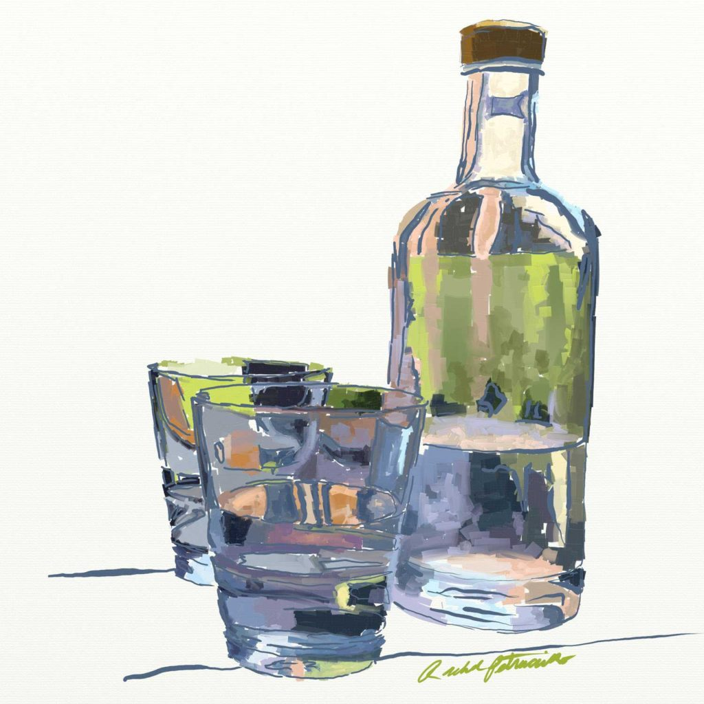 Daily Painting Challenge - My Cup - Day 82 - Rachel Petruccillo