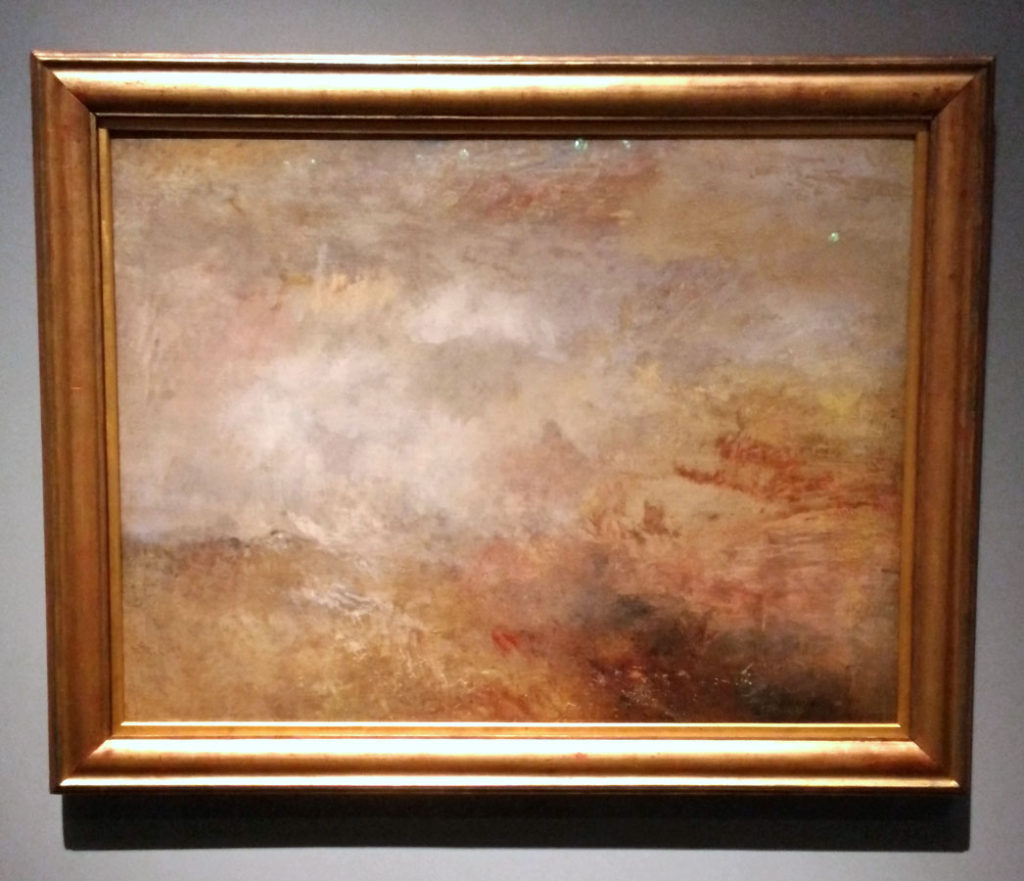 Oil Painting - J.M.W. Turner Watercolors from Tate at Mystic Seaport 2020