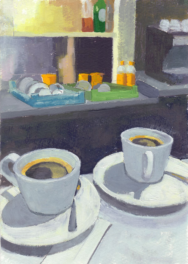 Two Coffees (version 1) 1
