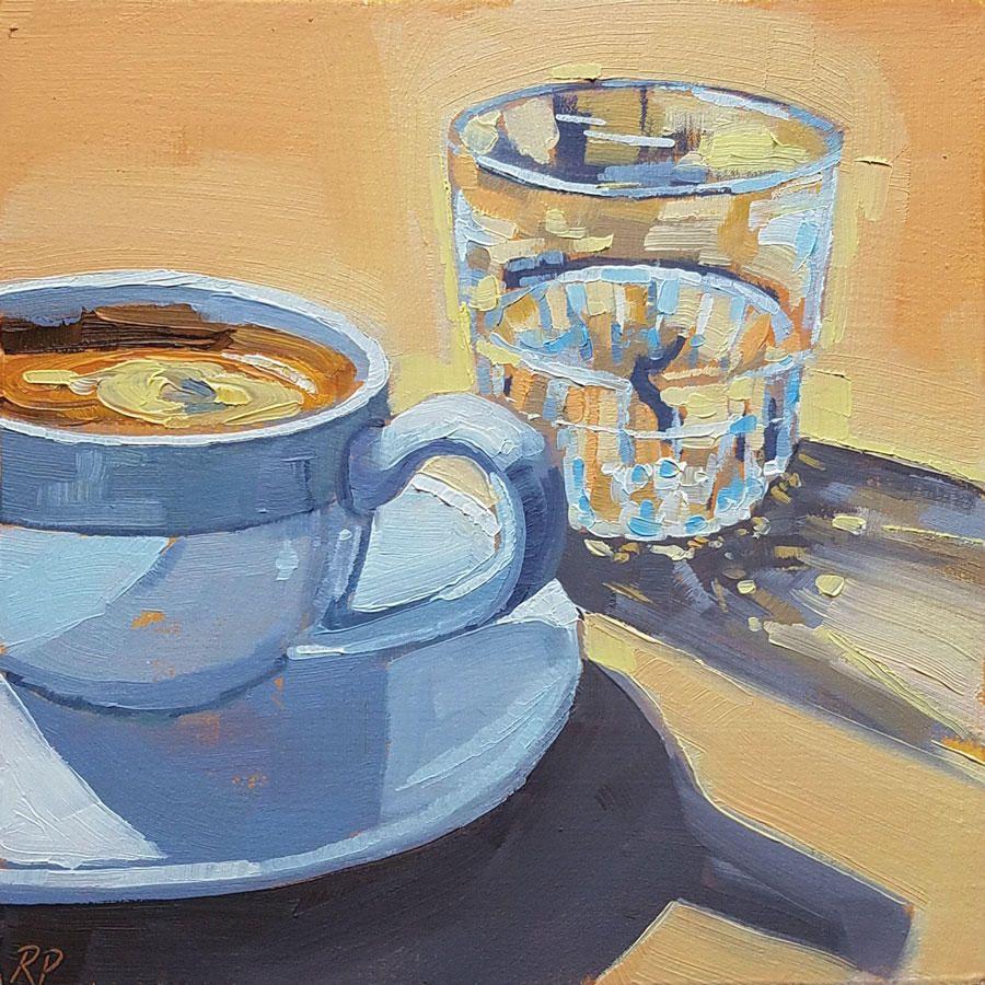 coffee and water 1