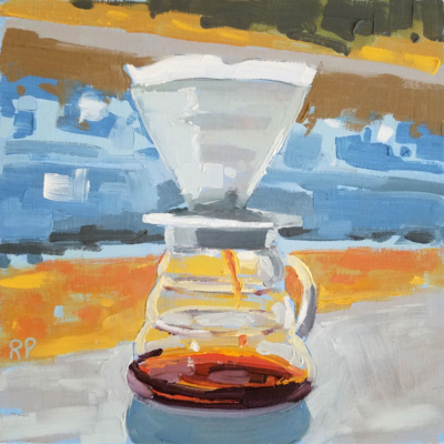 pour over on counter 1
